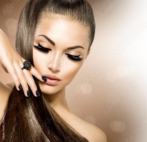 Makeup hair