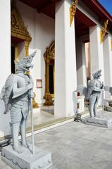 Temple in National Museum Bangkok Thailand
