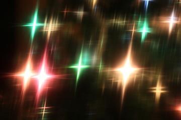 Background of Christmas light decoration