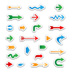 ARROW Icons (sticker label icon symbol play)