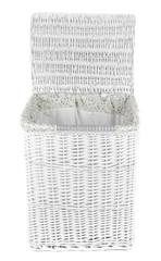 Laundry basket isolated on white