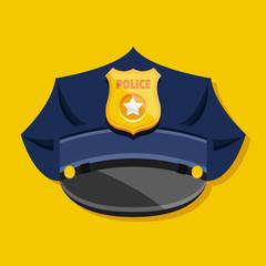 Vector Police Hat