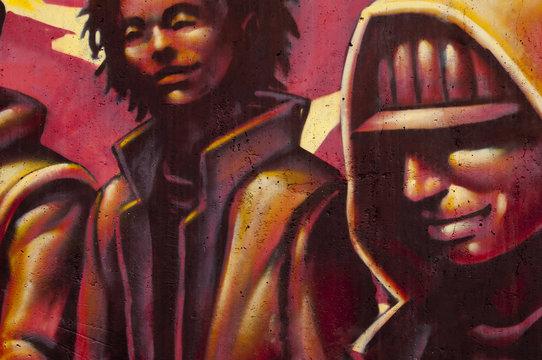 Graffiti - Jeune homme