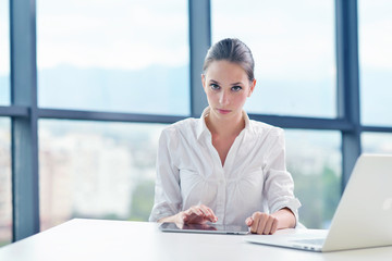 Wall Mural - business woman at  office