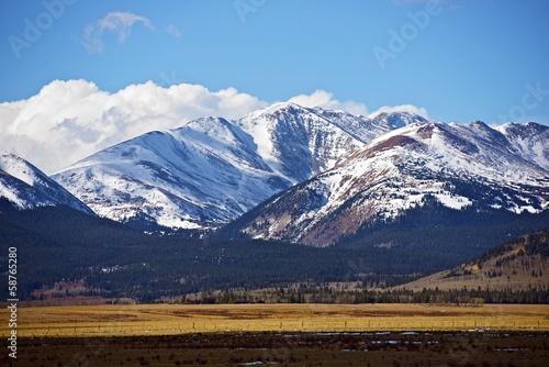 Wall mural Colorado Mountains