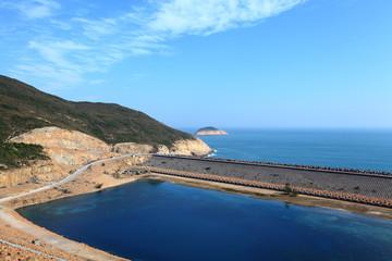 High Island Reservoir in Hong Kong Geo Park
