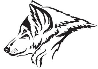 Wolf muzzle