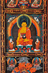 Buddha, buddhism painting art