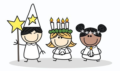 santa lucia swedish tradition