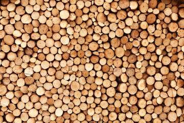 Printed roller blinds Firewood texture Firewood texture
