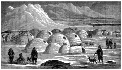 Inuits : Igloo Village