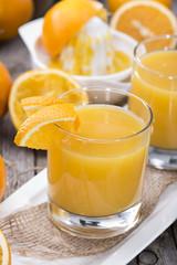 Fresh made Orange Juice
