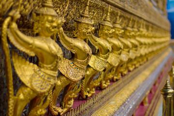 Garuda sculpture at Thailand Royal palace, Bangkok, Thailand