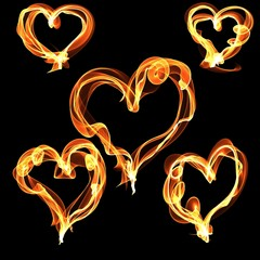love heart of fire