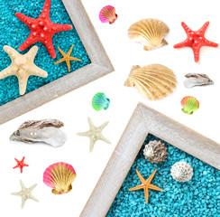 Sea theme collage