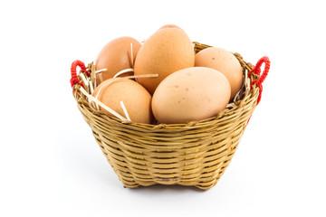 Eggs in package.