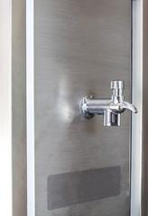 Faucet dispenser and water cooler