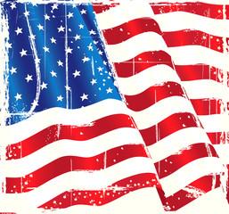 USA Grundge Flag of Freedom
