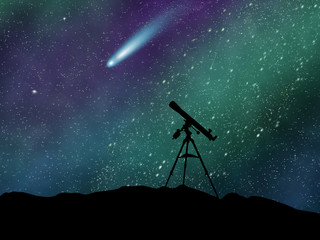 Comet Ison observing wallpaper