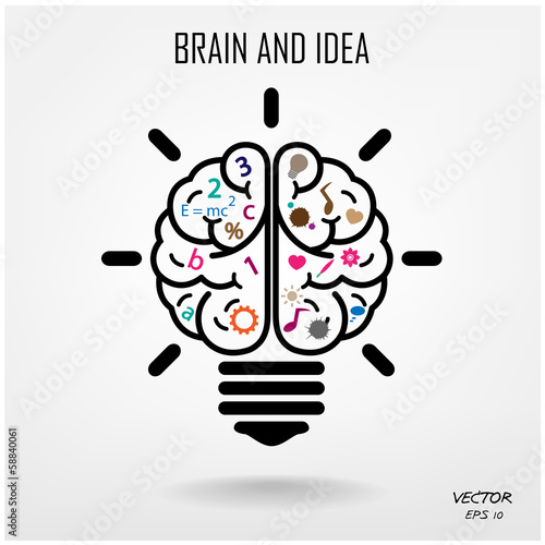 quotcreative brain symbolcreativity signbusiness symbol