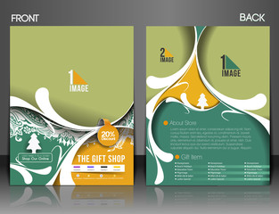 Gift Shop Flyer & Poster Cover Template