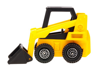 Yellow toy loader