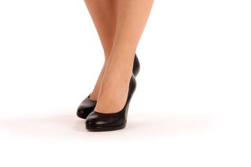 Stöckelschuhe und Beine