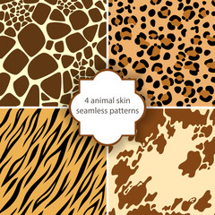Animal skin seamless