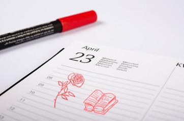 agenda Sant Jordi 2