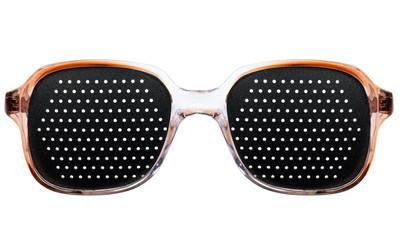 Women's black sunglasses