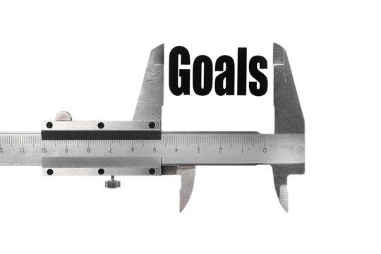 Measuring goals