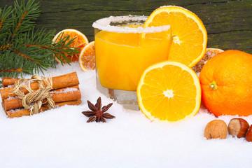 Orangensaft, Vitamine im Winter