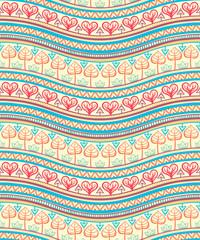 tribal color ornament