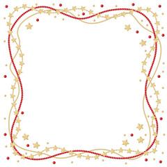 Christmas greeting frame
