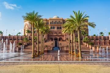Canvas Prints Abu Dhabi Emirates Palace in Abu Dhab