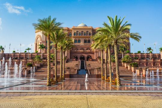 Emirates Palace in Abu Dhab