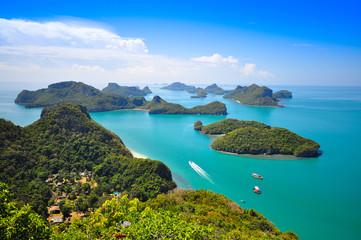 Fototapeta Ang Thong National Marine Park, Thailand obraz