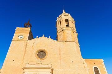 Church of Sant Bartomeu & Santa Tecla in Sitges, Spain