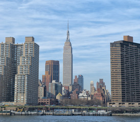 New York panorama view
