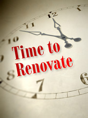 time to renovate