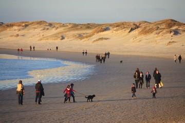 balade sur la plage, La Torche, Finistère