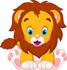 cute lion babies