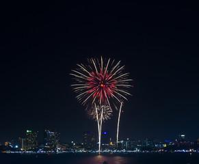 Firework in Pattaya