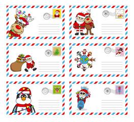 envelope to send letter to santa claus