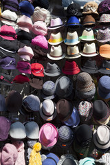 Hats fo different shape and colors