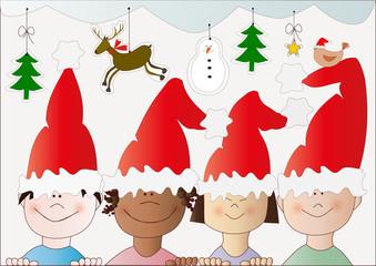 i bambini di Natale