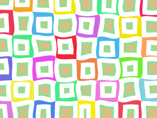 Unusual bright multi colored abstract pattern background