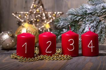 2. advent zweites licht angezündet advent
