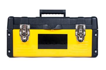 Garage tool box workisolated