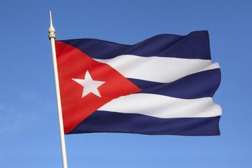 Flag of Cuba.